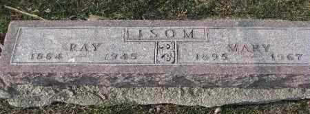 ISOM, MARY - Dixon County, Nebraska | MARY ISOM - Nebraska Gravestone Photos
