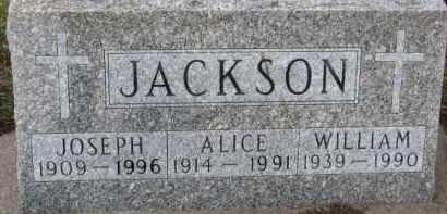 JACKSON, ALICE - Dixon County, Nebraska | ALICE JACKSON - Nebraska Gravestone Photos