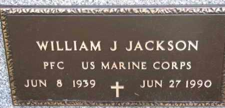 JACKSON, WILLIAM J. (MILITARY MARKER) - Dixon County, Nebraska | WILLIAM J. (MILITARY MARKER) JACKSON - Nebraska Gravestone Photos