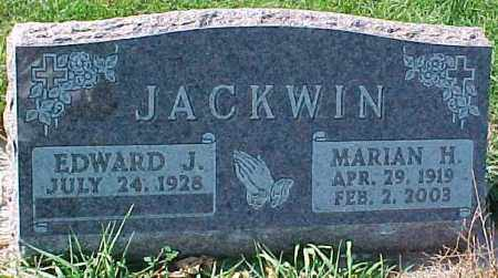 JACKWIN, EDWARD J. - Dixon County, Nebraska | EDWARD J. JACKWIN - Nebraska Gravestone Photos