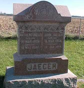 JAEGER, MATHILDE - Dixon County, Nebraska | MATHILDE JAEGER - Nebraska Gravestone Photos