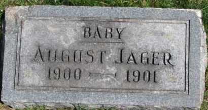 JAGER, AUGUST - Dixon County, Nebraska   AUGUST JAGER - Nebraska Gravestone Photos