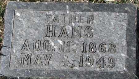 JAGER, HANS - Dixon County, Nebraska   HANS JAGER - Nebraska Gravestone Photos