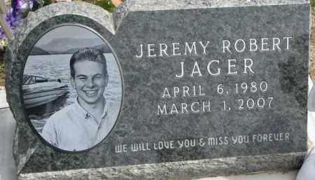 JAGER, JEREMY ROBERT - Dixon County, Nebraska | JEREMY ROBERT JAGER - Nebraska Gravestone Photos