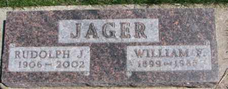 JAGER, RUDOLPH J. - Dixon County, Nebraska | RUDOLPH J. JAGER - Nebraska Gravestone Photos