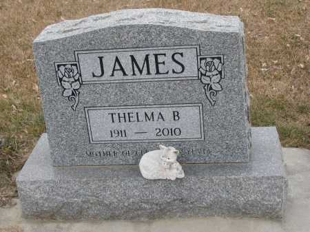 JAMES, THELMA BONITA - Dixon County, Nebraska | THELMA BONITA JAMES - Nebraska Gravestone Photos