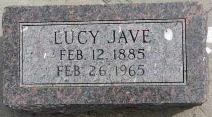 JAVE, LUCY - Dixon County, Nebraska   LUCY JAVE - Nebraska Gravestone Photos