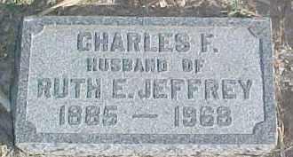 JEFFREY, CHARLES F. - Dixon County, Nebraska | CHARLES F. JEFFREY - Nebraska Gravestone Photos