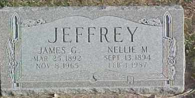 JEFFREY, NELLIE M. - Dixon County, Nebraska | NELLIE M. JEFFREY - Nebraska Gravestone Photos