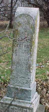JEFFREY, JAMES - Dixon County, Nebraska | JAMES JEFFREY - Nebraska Gravestone Photos