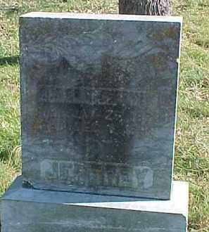 JEFFREY, OLIVER H. - Dixon County, Nebraska | OLIVER H. JEFFREY - Nebraska Gravestone Photos