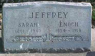 JEFFREY, SARAH - Dixon County, Nebraska | SARAH JEFFREY - Nebraska Gravestone Photos