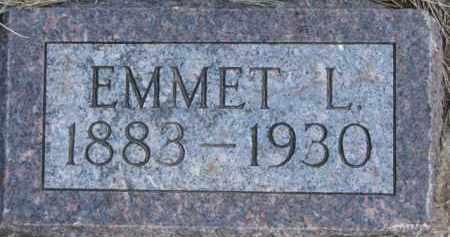 JENNEWEIN, EMMET L. - Dixon County, Nebraska | EMMET L. JENNEWEIN - Nebraska Gravestone Photos
