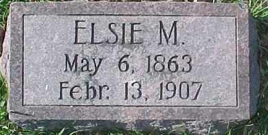 JENSEN, ELSIE M. - Dixon County, Nebraska   ELSIE M. JENSEN - Nebraska Gravestone Photos