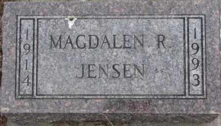 JENSEN, MAGDALEN R. - Dixon County, Nebraska   MAGDALEN R. JENSEN - Nebraska Gravestone Photos