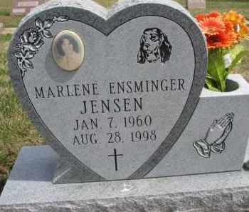 JENSEN, MARLENE - Dixon County, Nebraska | MARLENE JENSEN - Nebraska Gravestone Photos