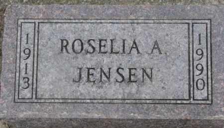 JENSEN, ROSELIA A. - Dixon County, Nebraska | ROSELIA A. JENSEN - Nebraska Gravestone Photos