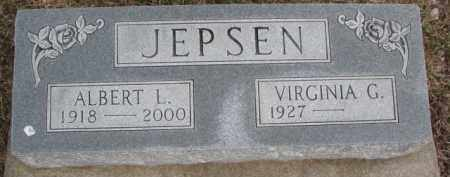 JEPSEN, VIRGINIA G. - Dixon County, Nebraska | VIRGINIA G. JEPSEN - Nebraska Gravestone Photos
