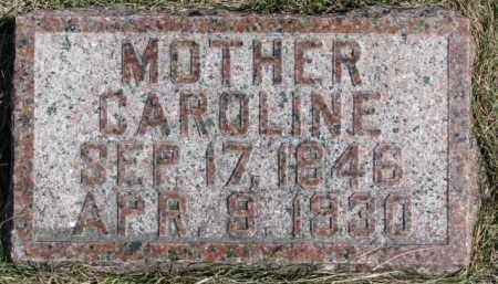 JESSEN, CAROLINE - Dixon County, Nebraska | CAROLINE JESSEN - Nebraska Gravestone Photos