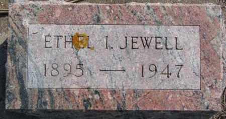 JEWELL, ETHEL I. - Dixon County, Nebraska | ETHEL I. JEWELL - Nebraska Gravestone Photos