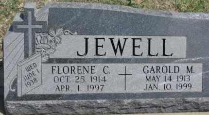 JEWELL, GAROLD M. - Dixon County, Nebraska | GAROLD M. JEWELL - Nebraska Gravestone Photos