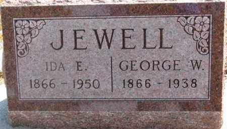 JEWELL, IDA E. - Dixon County, Nebraska | IDA E. JEWELL - Nebraska Gravestone Photos