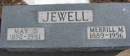 JEWELL, MAY D. - Dixon County, Nebraska | MAY D. JEWELL - Nebraska Gravestone Photos