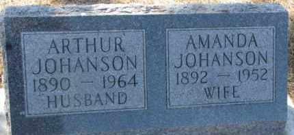 JOHANSON, ARTHUR - Dixon County, Nebraska   ARTHUR JOHANSON - Nebraska Gravestone Photos