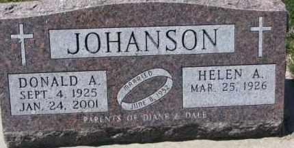JOHANSON, HELEN A. - Dixon County, Nebraska | HELEN A. JOHANSON - Nebraska Gravestone Photos