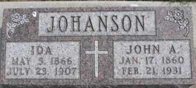 JOHANSON, IDA - Dixon County, Nebraska | IDA JOHANSON - Nebraska Gravestone Photos