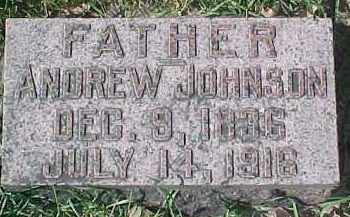 JOHNSON, ANDREW - Dixon County, Nebraska | ANDREW JOHNSON - Nebraska Gravestone Photos