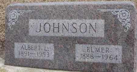 JOHNSON, ALBERT L. - Dixon County, Nebraska | ALBERT L. JOHNSON - Nebraska Gravestone Photos