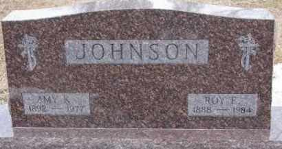 JOHNSON, ROY E. - Dixon County, Nebraska | ROY E. JOHNSON - Nebraska Gravestone Photos
