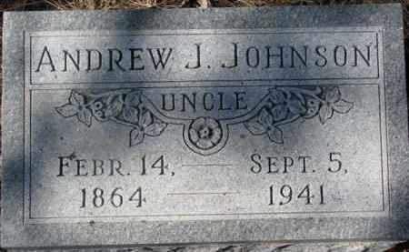JOHNSON, ANDREW J. - Dixon County, Nebraska | ANDREW J. JOHNSON - Nebraska Gravestone Photos