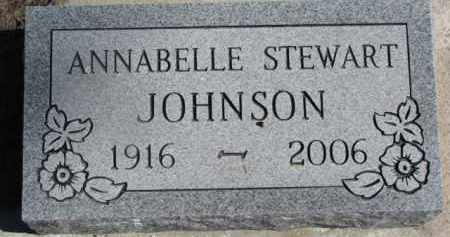 JOHNSON, ANNABELLE - Dixon County, Nebraska   ANNABELLE JOHNSON - Nebraska Gravestone Photos