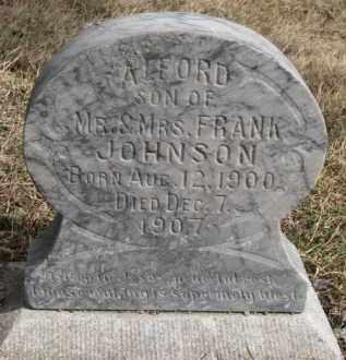 JOHNSON, ALFORD - Dixon County, Nebraska   ALFORD JOHNSON - Nebraska Gravestone Photos