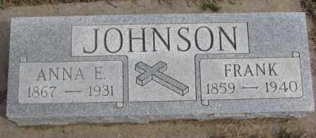 JOHNSON, FRANK - Dixon County, Nebraska | FRANK JOHNSON - Nebraska Gravestone Photos