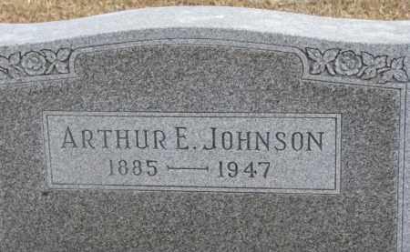 JOHNSON, ARTHUR E. - Dixon County, Nebraska | ARTHUR E. JOHNSON - Nebraska Gravestone Photos