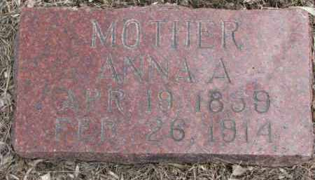 JOHNSON, ANNA A. - Dixon County, Nebraska | ANNA A. JOHNSON - Nebraska Gravestone Photos