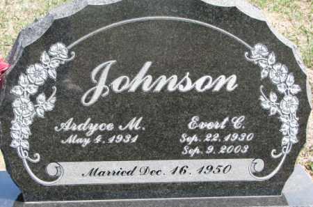JOHNSON, ARDYCE M. - Dixon County, Nebraska   ARDYCE M. JOHNSON - Nebraska Gravestone Photos