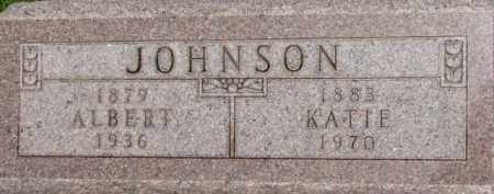 JOHNSON, KATIE - Dixon County, Nebraska | KATIE JOHNSON - Nebraska Gravestone Photos