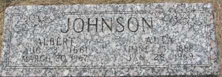 JOHNSON, ALTA - Dixon County, Nebraska | ALTA JOHNSON - Nebraska Gravestone Photos