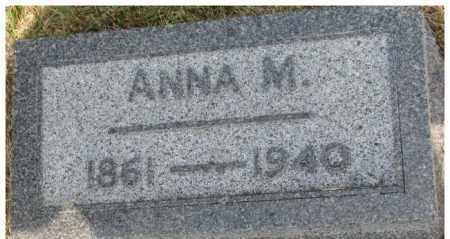 JOHNSON, ANNA M. - Dixon County, Nebraska   ANNA M. JOHNSON - Nebraska Gravestone Photos