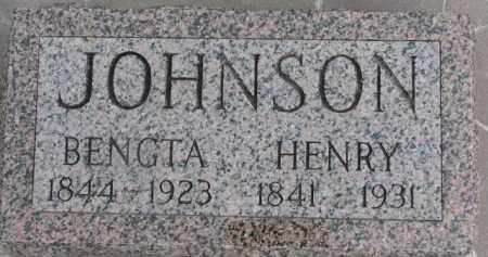 JOHNSON, BENGTA - Dixon County, Nebraska | BENGTA JOHNSON - Nebraska Gravestone Photos