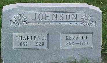 JOHNSON, CHARLES J. - Dixon County, Nebraska | CHARLES J. JOHNSON - Nebraska Gravestone Photos