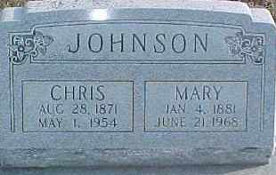 JOHNSON, MARY - Dixon County, Nebraska | MARY JOHNSON - Nebraska Gravestone Photos