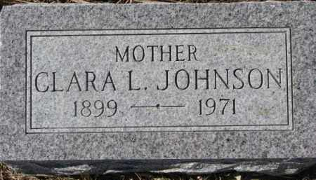 JOHNSON, CLARA L. - Dixon County, Nebraska | CLARA L. JOHNSON - Nebraska Gravestone Photos