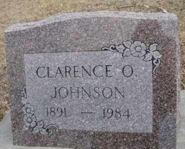 JOHNSON, CLARENCE O. - Dixon County, Nebraska | CLARENCE O. JOHNSON - Nebraska Gravestone Photos