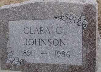 JOHNSON, CLARA C. - Dixon County, Nebraska | CLARA C. JOHNSON - Nebraska Gravestone Photos