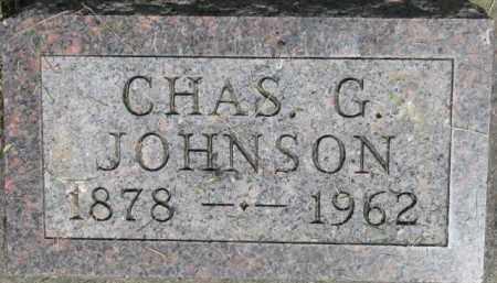 JOHNSON, CHAS G. - Dixon County, Nebraska   CHAS G. JOHNSON - Nebraska Gravestone Photos